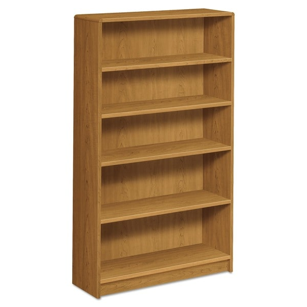 HON 1890 Series Five-Shelf Harvest Bookcase