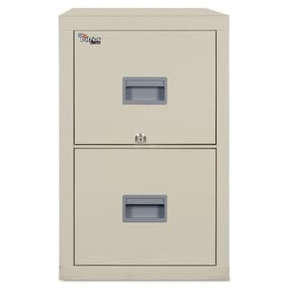 FireKing Patriot Insulated Parchment Two-Drawer Fire File