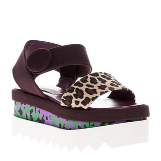 Stella McCartney Cornelia Faux Leather Platform Sandals