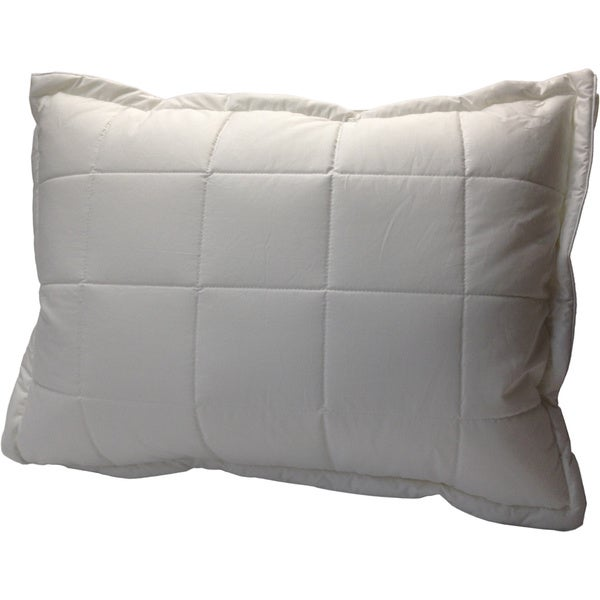 Swiss Comforts 233 Thread Count Quilted Down Alternative with Downproof Cover Pillow