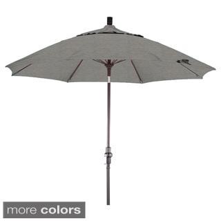 Somette 9-Foot Market Umbrella with Bronze Finish and Sunbrella Fabric