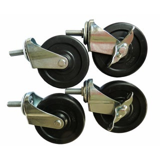 Excel 4-inch ES-Casters (Set of 4)