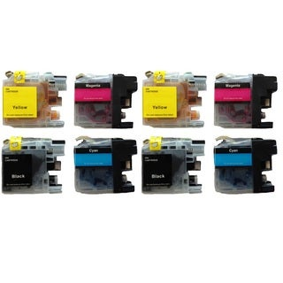 8-Pack Compatible Brother LC-101 LC101 Ink Cartridge For MFCJ450 MFCJ470 MFCJ475 MFCJ650 MFCJ870 MFCJ875 MFCJ245 MFCJ285 DCPJ152