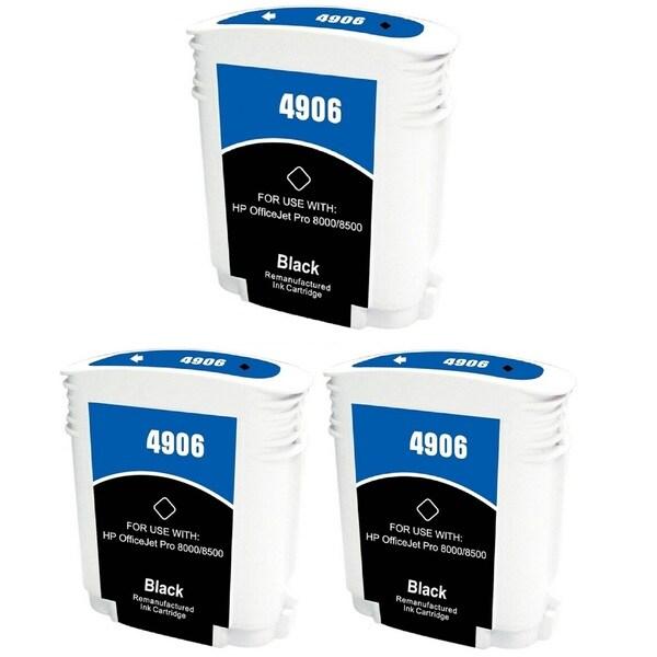 940 940XL C9406AN Ink Cartridge for HP OfficeJet Pro 8500 Premier Plus e-A910g A909n 8000 Enterprise A811a Pro 8000 (Pack of 3)