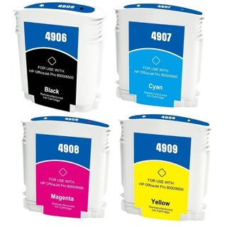 940 940XL Ink Cartridge Use for HP OfficeJet Pro 8500 Premier Plus e-A910g A909n 8000 Enterprise A811a Pro 8000 (Pack of 4)