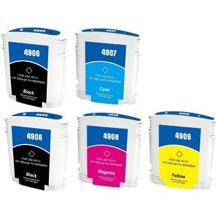 940 940XL Ink Cartridge Use for HP OfficeJet Pro 8500 Premier Plus e-A910g A909n 8000 Enterprise A811a Pro 8000 (Pack of 5)