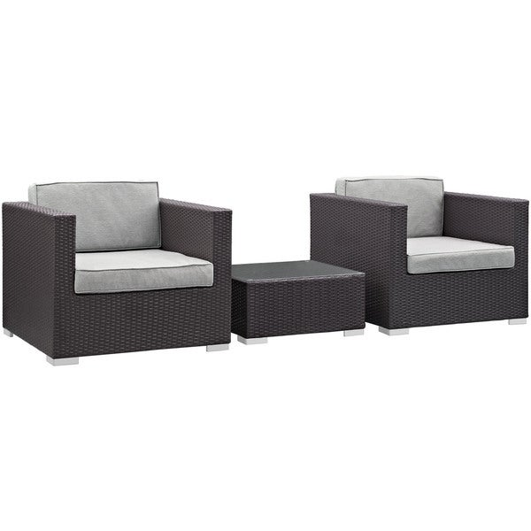 Lair 3-Piece Outdoor Patio Sofa Set