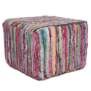 Hosiery Yarn Pouf