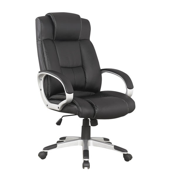 Manhattan Comfort Presidential Washington Office Chair in Black