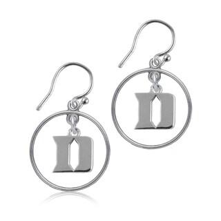 Duke Sterling Silver Open Drop Earrings