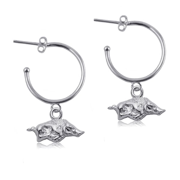 Arkansas Sterling Silver Hoop Earrings