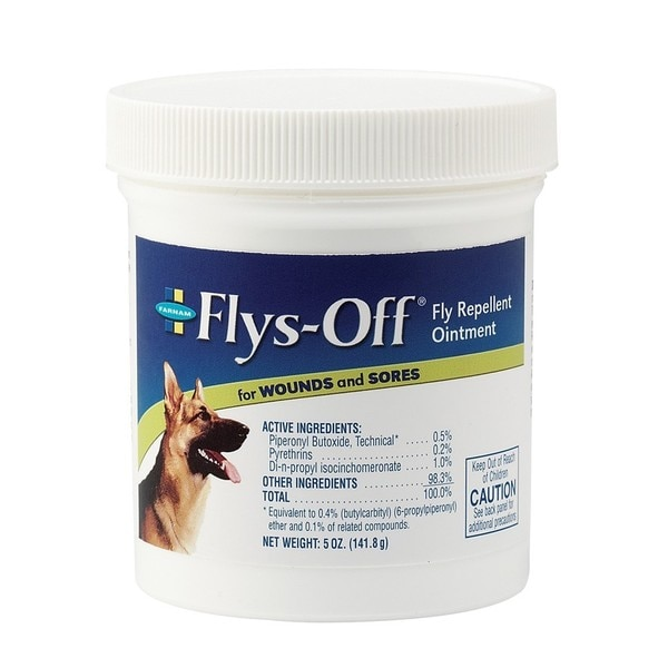 FARNAM Flys-Off Fly Repellent Ointment 5oz Jar