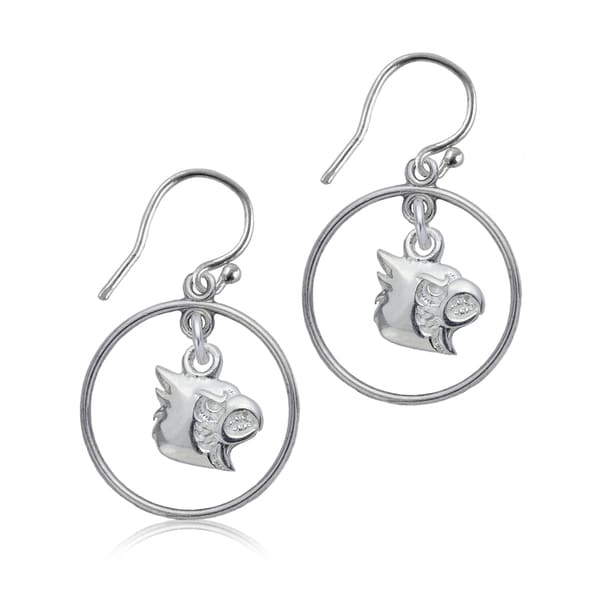 Louisville Sterling Silver Open Drop Earrings