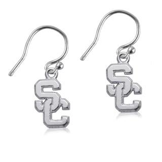 USC Sterling Silver Dangle Earrings