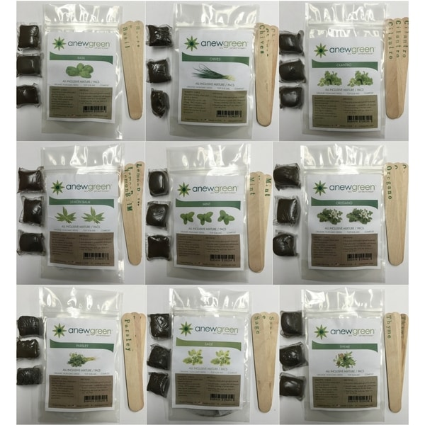 Anew Green Herb Kit Seed Pacs