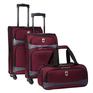 Atlantic Connect 3-piece Spinner Luggage Set