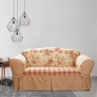 Sure Fit Lexington One-piece T-cushion Sofa Slipcover
