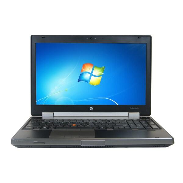 HP 8560W 15.6-inch 2.2GHz Intel Core i7 4GB RAM 256GB SSD Windows 7 Laptop (Refurbished)