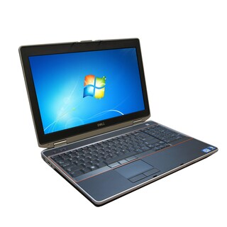 Dell E6520 15.6-inch 2.1GHz Intel Core i3 4GB RAM 128GB SSD Windows 7 Laptop (Refurbished)