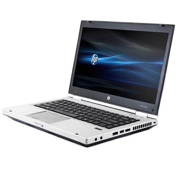 HP 8460P 14-inch 2.1GHz Intel Core i3 4GB RAM 320GB HDD Windows 7 Laptop (Refurbished)