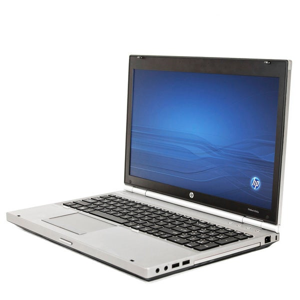 HP 8560P 15.6-inch 2.1GHz Intel Core i3 4GB RAM 320GB HDD Windows 7 Laptop (Refurbished)