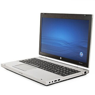 HP 8560P 15.6-inch 2.1GHz Intel Core i3 4GB RAM 128GB SSD Windows 7 Laptop (Refurbished)