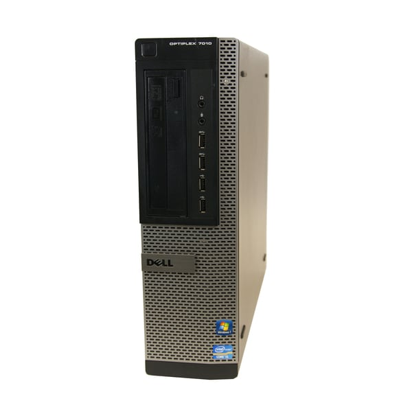 Dell 7010 DT 3.2GHz Intel Core i5 8GB RAM 500GB HDD Windows 7 Desktop Computer (Refurbished)