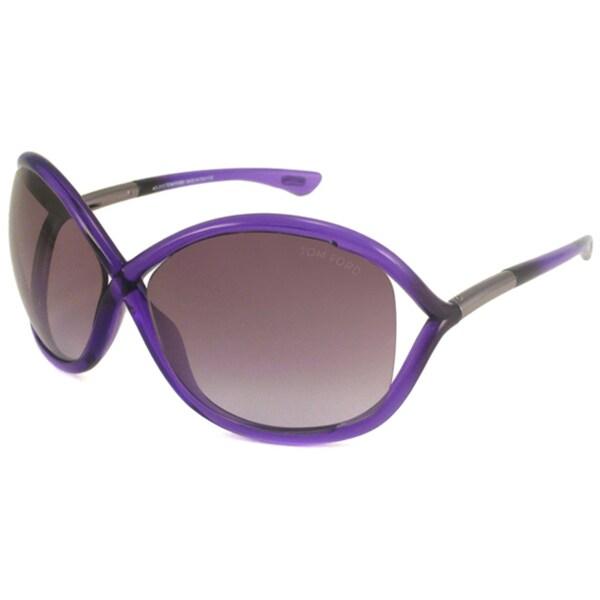 Tom Ford Womens TF0009 Whitney Wrap Sunglasses