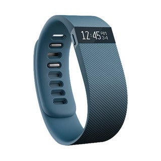 Fitbit Charge Wireless Activity Wristband - Slate, Large