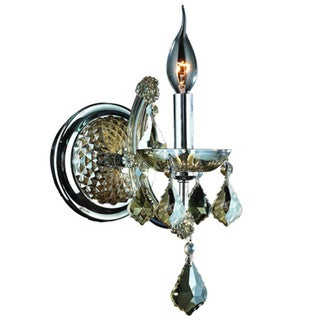Candle Wall Sconces With Crystals