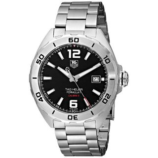 Tag Heuer Men's WAZ2113.BA0875 'Formula 1' Silver Stainless steel Watch