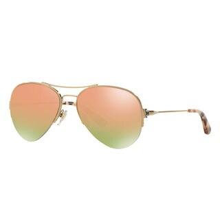 Tory Burch Women's TY6038 Pilot Sunglasses