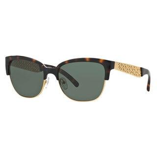 Tory Burch Women's TY6032 Rectangle Sunglasses
