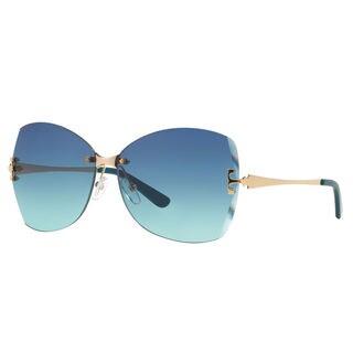 Tory Burch Women's TY6030 Irregular Sunglasses