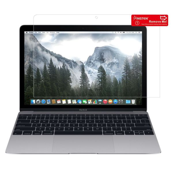 Insten LCD Screen Protector Film Cover For Apple Macbook With Retina Display 12-inch