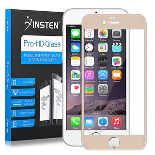 Insten Clear Tempered Glass LCD Screen Protector Film Cover For Apple iPhone 6