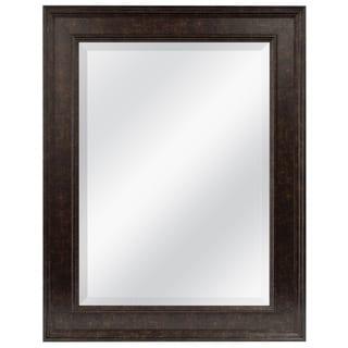Bronze Finished Beveled Mirror