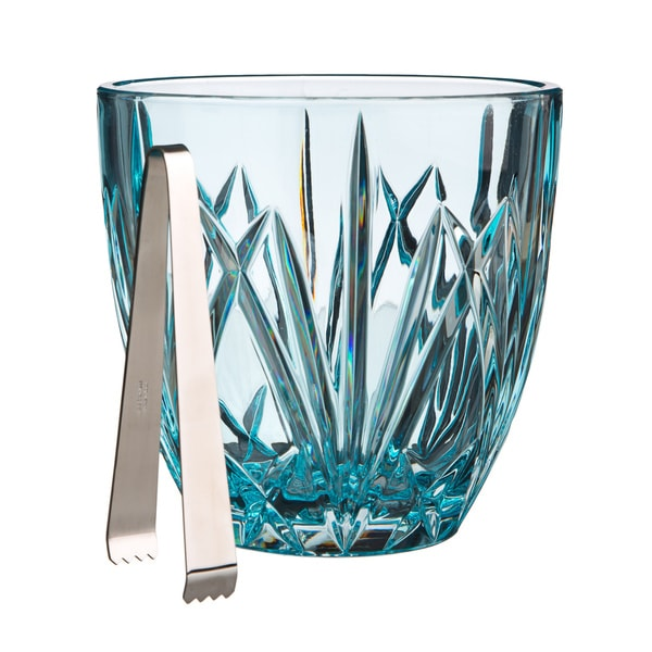 Waterford Marquis Aqua Brookside Pastel Ice Bucket