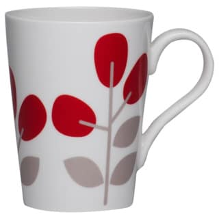 Winterberry 10-ounce Red Mug (Set of 4)