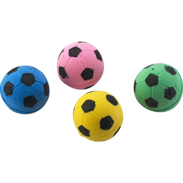 Spot Ethical Sponge Soccer Balls for Cats (Pack of 4)