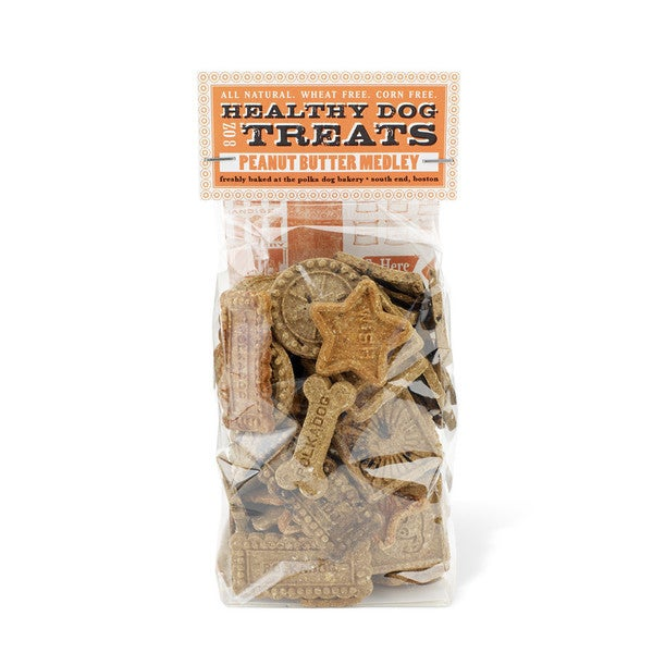 Polka Dog Peanut Butter Medley Dog Biscuit