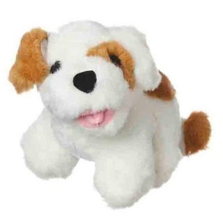 Multipet Look Who's Talking Plush Dog Toy