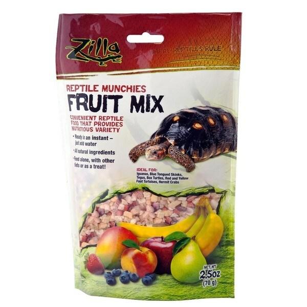 Zilla Reptile Munchies Fruit Mix