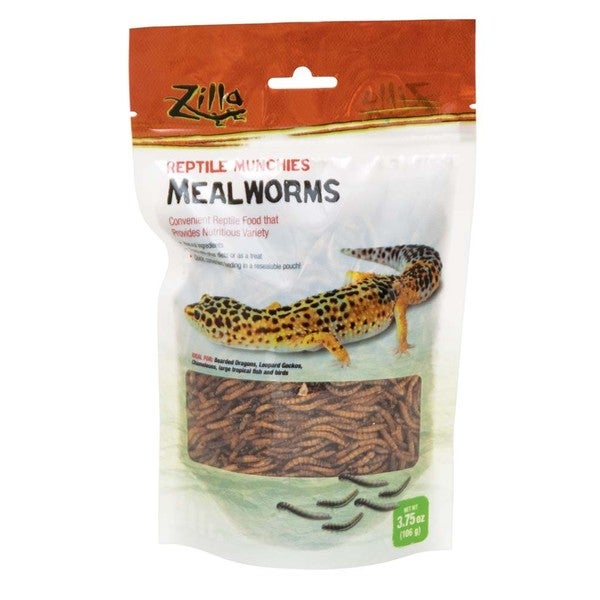 Zilla Food Reptile Munchies Mealworm