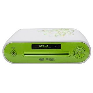 Starlite GGDVD-295 Green/ White DVD Player