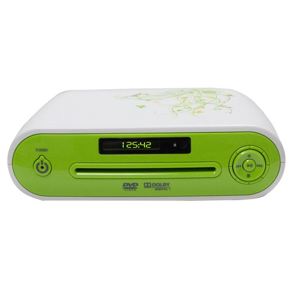 Starlite GGDVD-295 Green/ White DVD Player