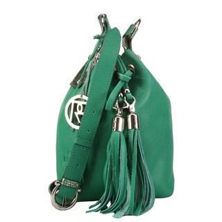 Phive Rivers Leather Tassel Handbag (Italy)