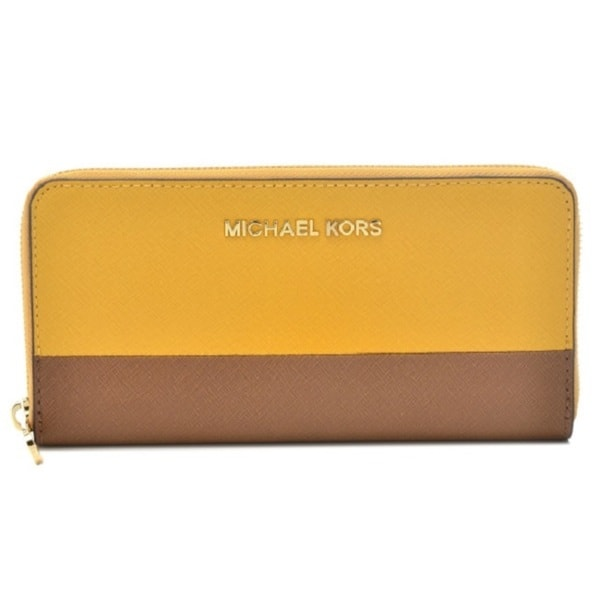MICHAEL Michael Kors Jet Set Leather Continental Travel Wallet