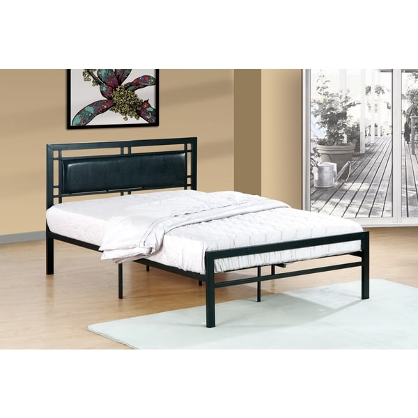 Metal Frame Black Bed