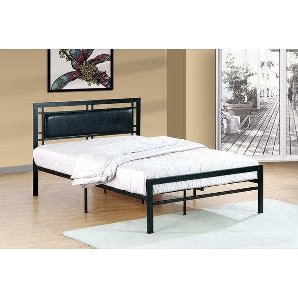 Metal Frame Black Bed